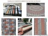 Вибропресс для производства тротуарной плитки, бордюров R300 - фото 8