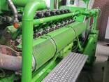 Б/У газовый двигатель Jenbacher J320 GS B05,1000 Квт,1996 г. - фото 5