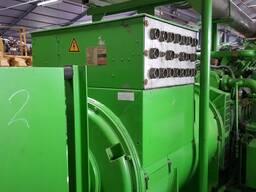 Б/У газовый двигатель Jenbacher J 620 GSE01,2800 Квт,2001 г. - фото 7