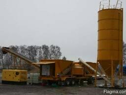 Б/У Мобильный бетонный завод Fibo M-22 ( 60 м3/ч, 2002 г. ) - фото 2