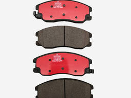 Brake pads, brake shoes, brake discs