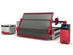 Máquina de corte de vidro cnc de jato de água de plataforma