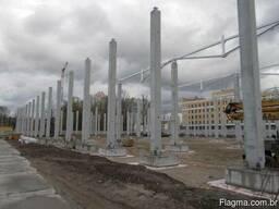 Оборудование для производства бетонных колонн большой длины - фото 2